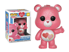 Pop! Animation: Care Bears - Love-A-Lot Bear (Glitter) Exclusive