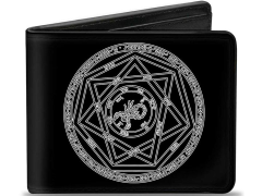 Supernatural Devil's Trap Pentagram Bi-Fold Wallet