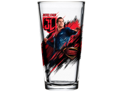 Justice League Toon Tumblers Superman Pint Glass