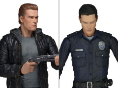 Terminator Set of 2 Figures (T-800 & T-1000)
