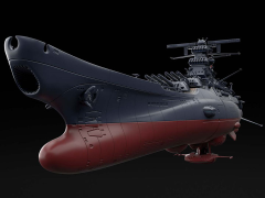 Space Battleship Yamato 2202 Space Battleship Yamato (Final Battle Ver.) 1/1000 Scale Model Kit