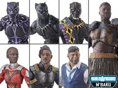 Black Panther Marvel Legends Wave 2 Set of 6 Figures (M'Baku BAF)