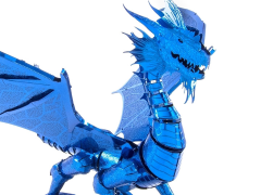 Metal Earth ICONX Blue Dragon Model Kit