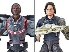 Avengers: Infinity War Marvel Legends Winter Soldier & Marvel's Falcon Exclusive Two-Pack