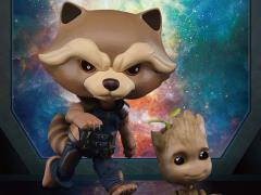 Guardians of the Galaxy Vol. 2 Egg Attack Action EAA-049 Rocket With Groot PX Previews Exclusive