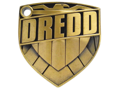 Judge Dredd (Metal) Badge 1/1 Scale Replica