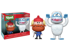 Rudolph the Red-Nosed Reindeer Vynl. Yukon Cornelius + Bumble