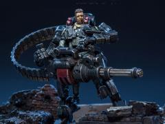 Dark Source Soldier Series Alpha Assault Team (Black) 1/24 Scale Figure