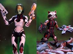 Guardians of the Galaxy Select Gamora & Rocket Raccoon