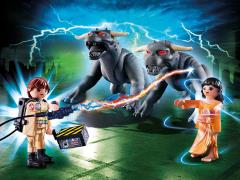 Ghostbusters Playmobil Playset - Venkman With Terror Dogs