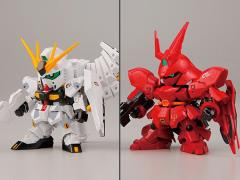 Gundam BB Senshi Nu Gundam VS MSN-04 Sazabi (Fateful Showdown) GDHK III Limited Model Kit
