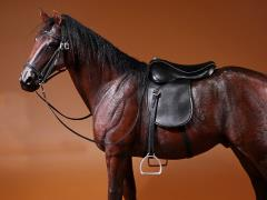 German Hanoverian Horse (Dark Brown) 1/6 Scale Figure
