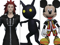 Kingdom Hearts Select Wave 1 Mickey Mouse, Axel, Shadow