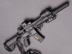 HK416 Assault Rifle (E) 1/6 Scale Weapon Set
