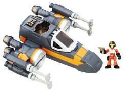 Star Wars Galactic Heroes Poe's X-Wing Fighter Deluxe Set
